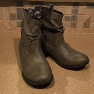 `Grey Ankle boot #5